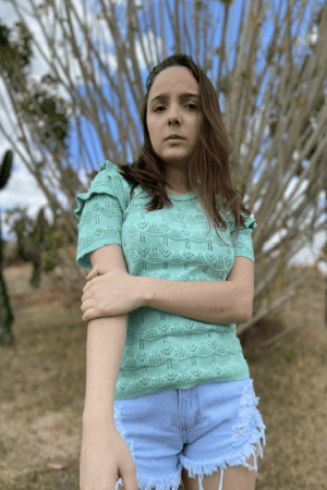 Blusa Renda